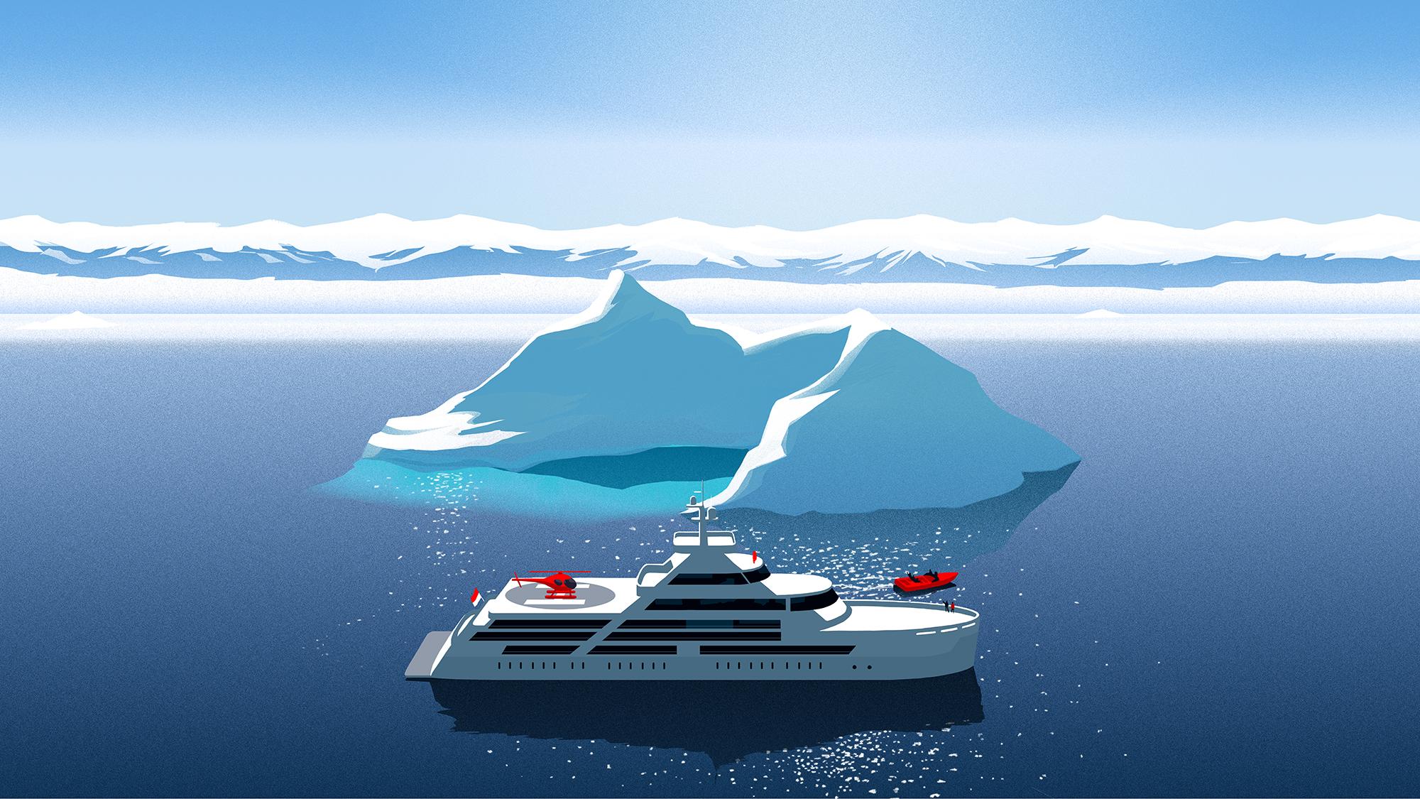 yacht charter antarctica