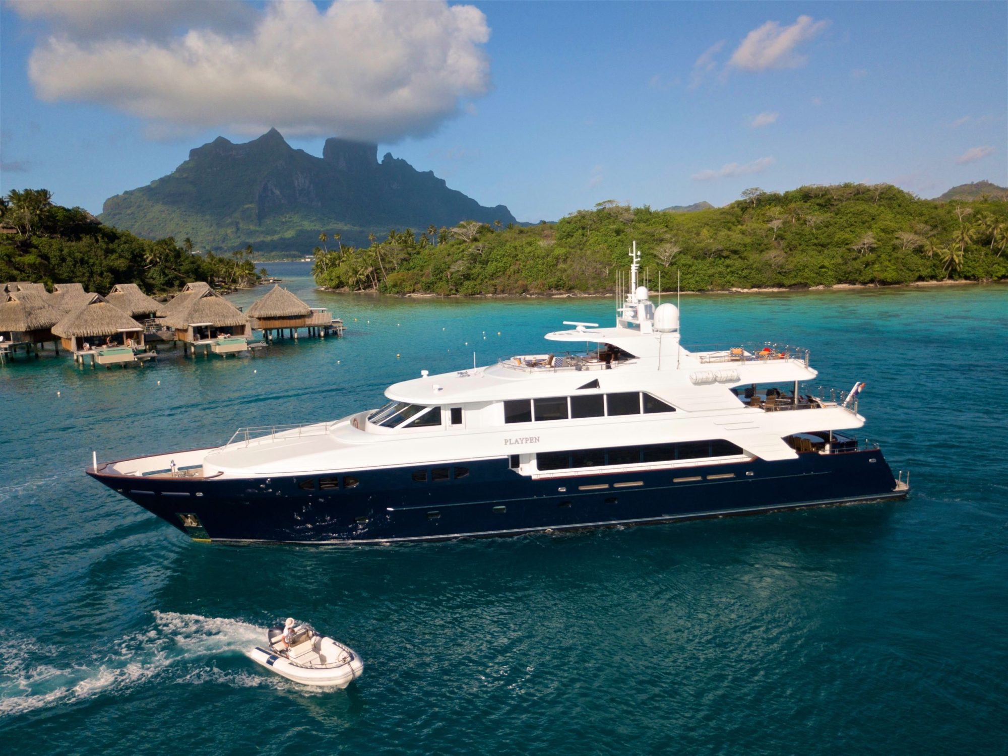 M/Y PLAYPEN for Charter with SuperYachtsMonaco