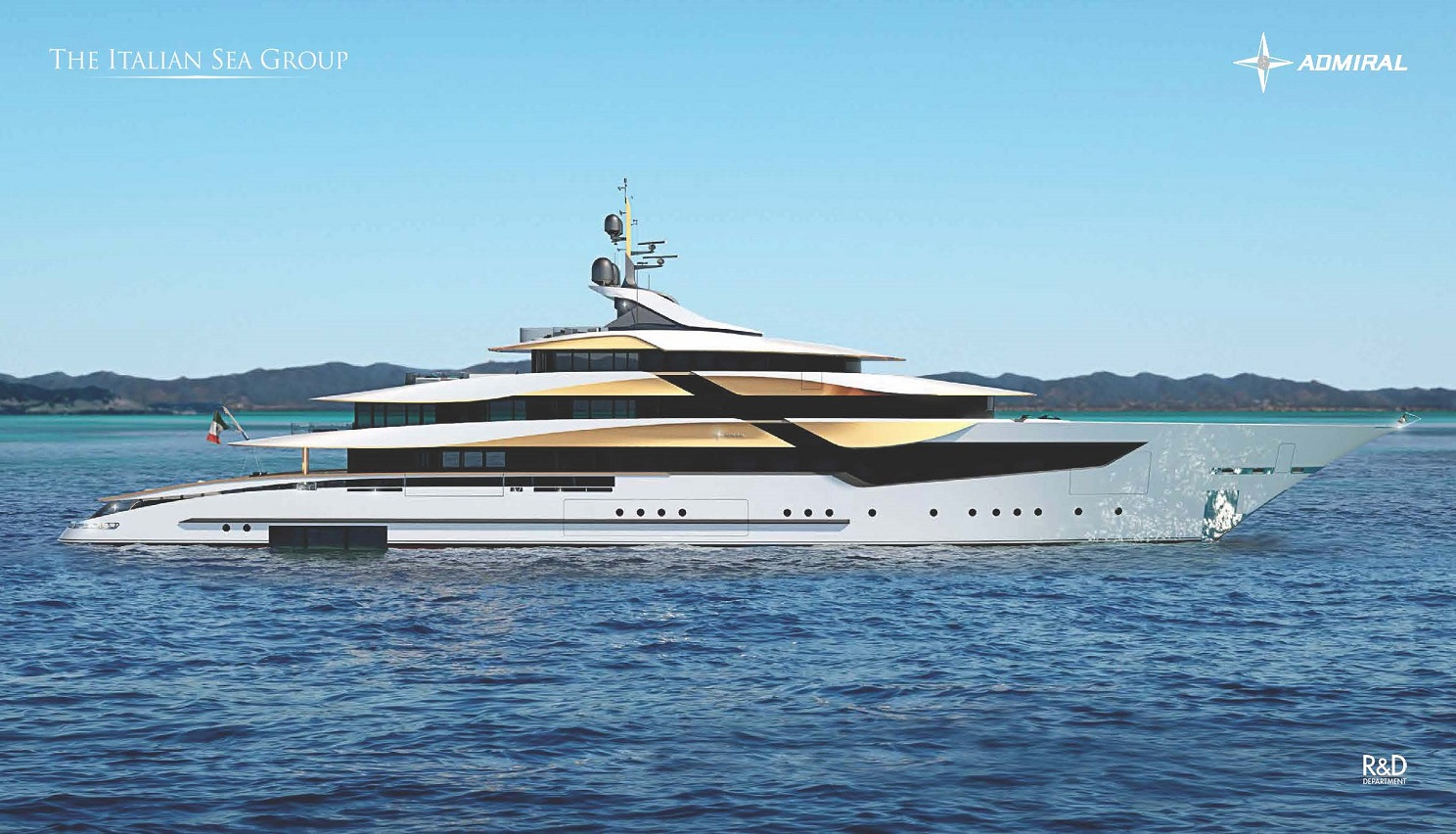 A New Collaboration with Admiral Yachts
