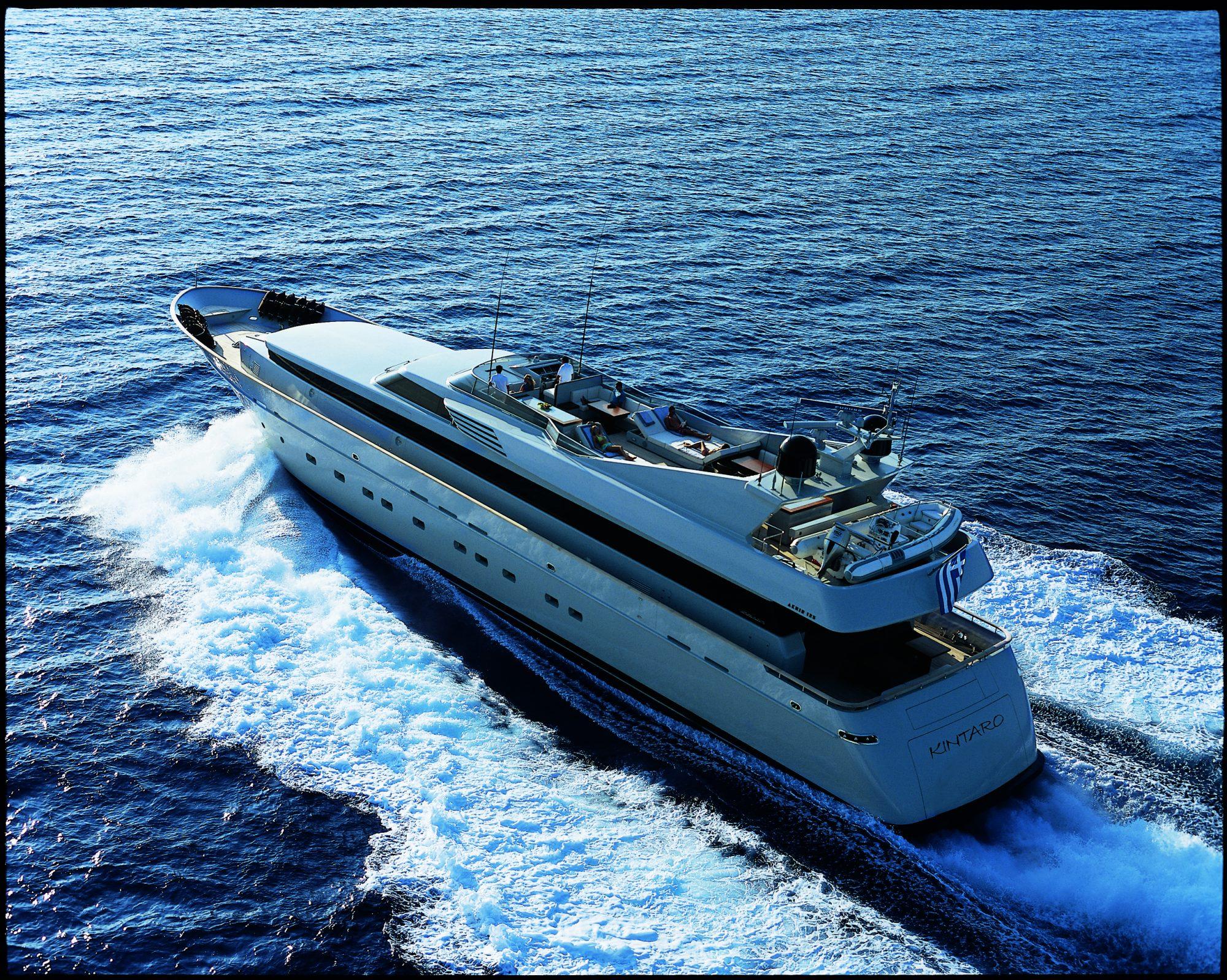 yacht for charter kintaro