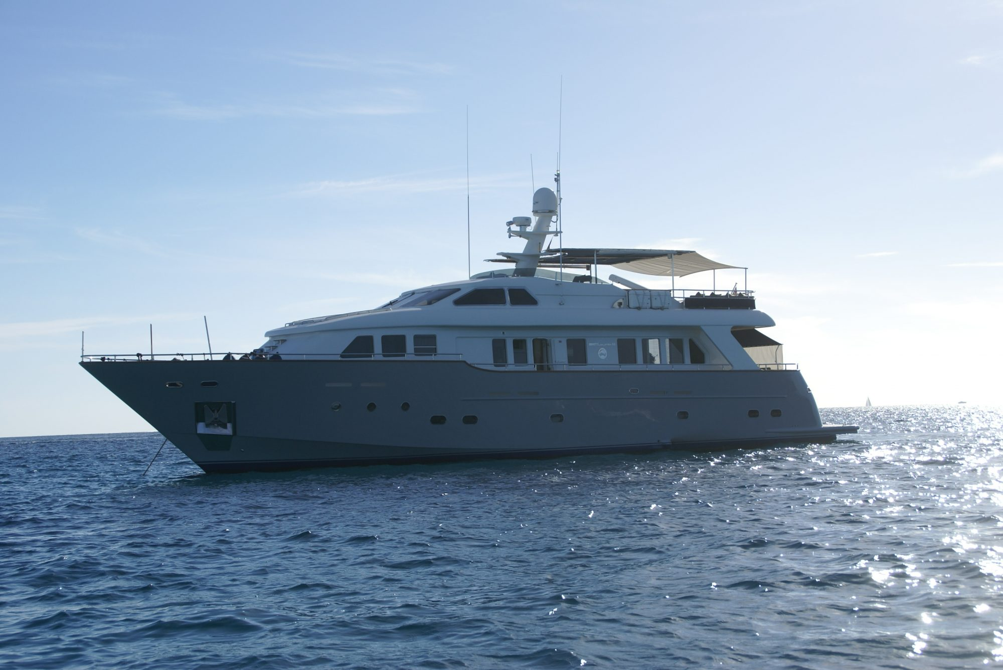 Amanzi yacht for sale