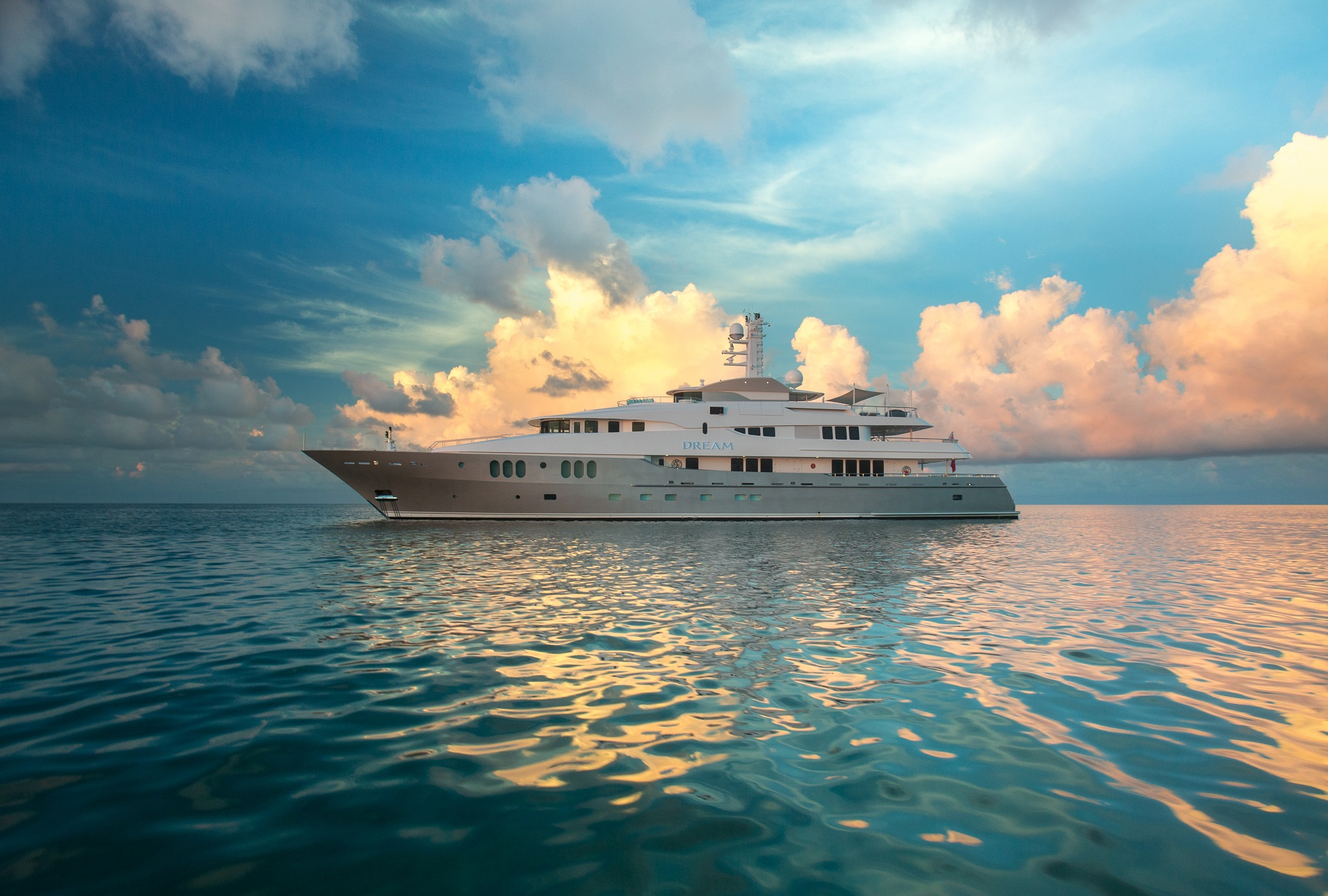 yacht for charter dream