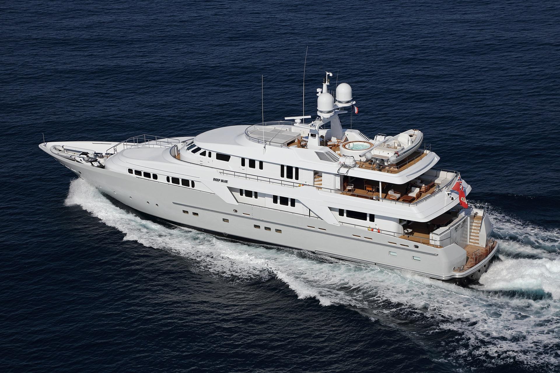 yacht for charter deep blue ii