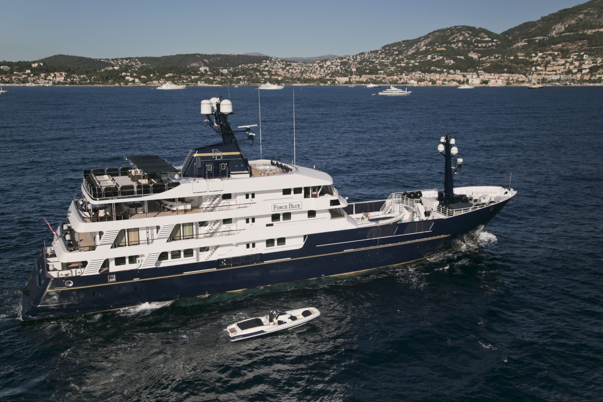 Motor Yacht FORCE BLUE for Charter with SuperYachtsMonaco