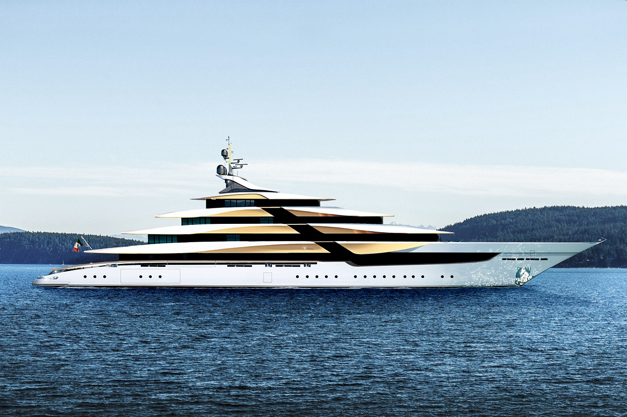 Concept Yacht PROJECT GALILEO 105 for Sale with SuperYachtsMonaco