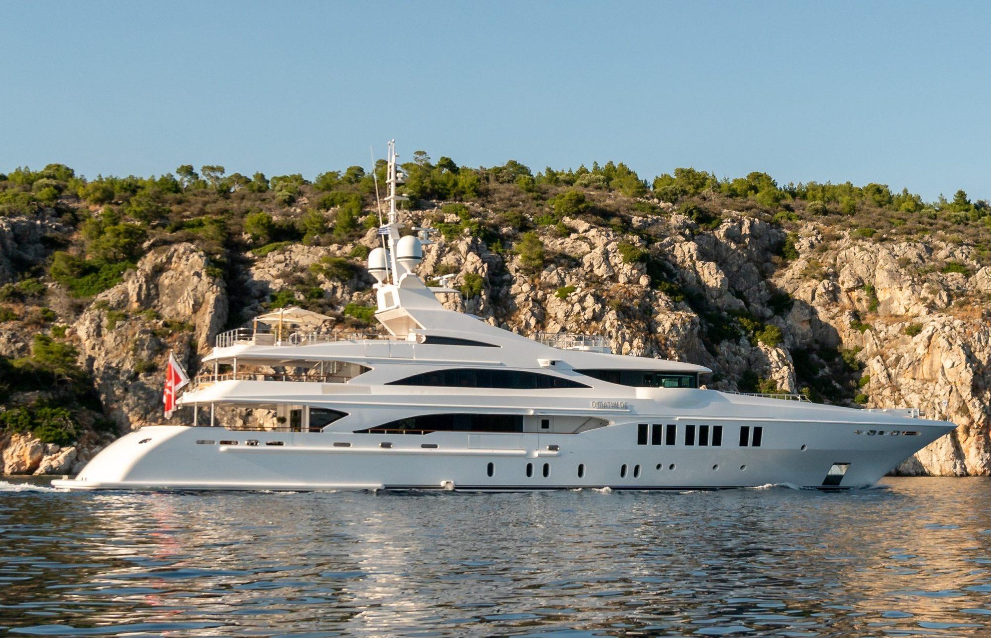 Motor Yacht O'MATHILDE for Charter with SuperYachtsMonaco
