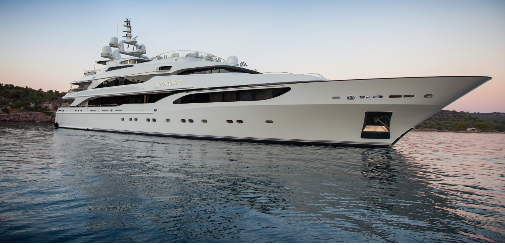 yacht for charter lioness v