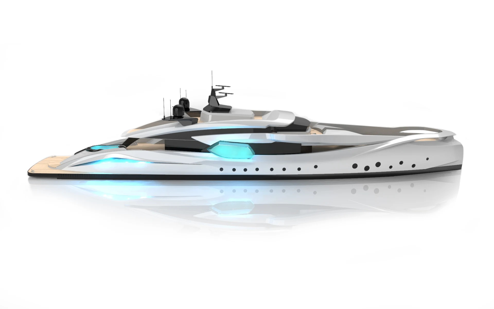 Concept Yacht HYPNOSQUID for Charter with SuperYachtsMonaco