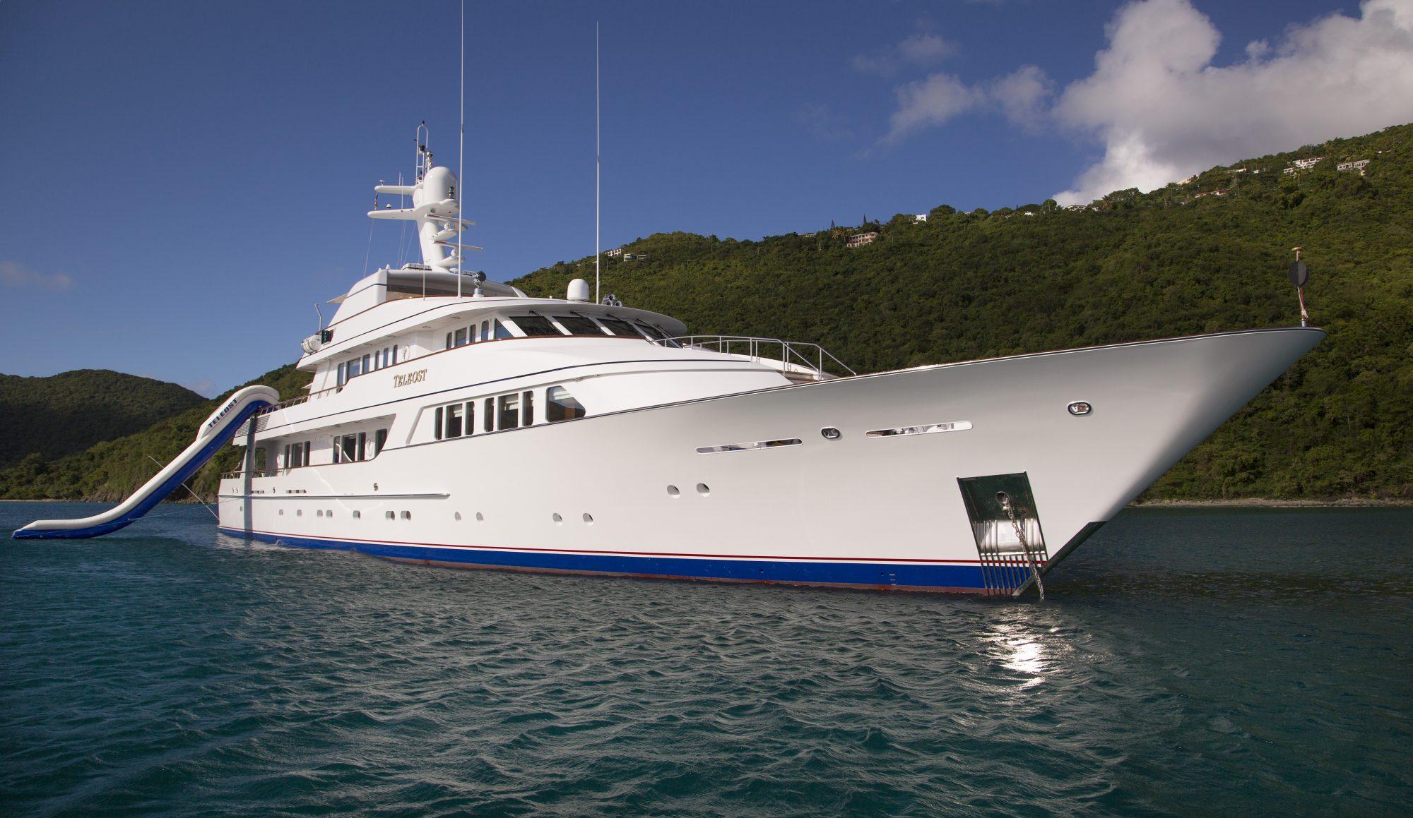 Motor Yacht TELEOST for Charter with SuperYachtsMonaco