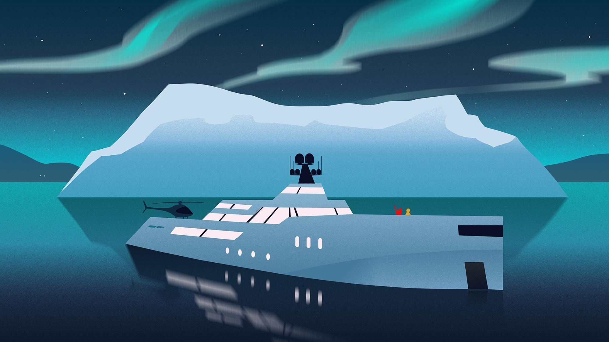 yacht charter greenland