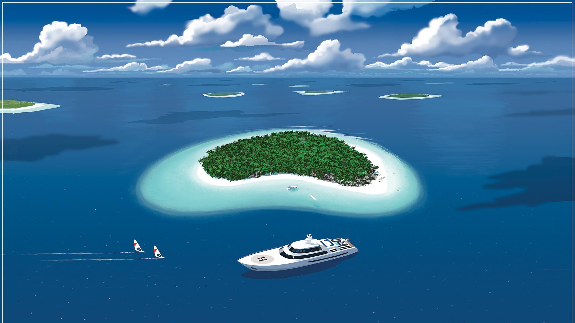 yacht charter maldives