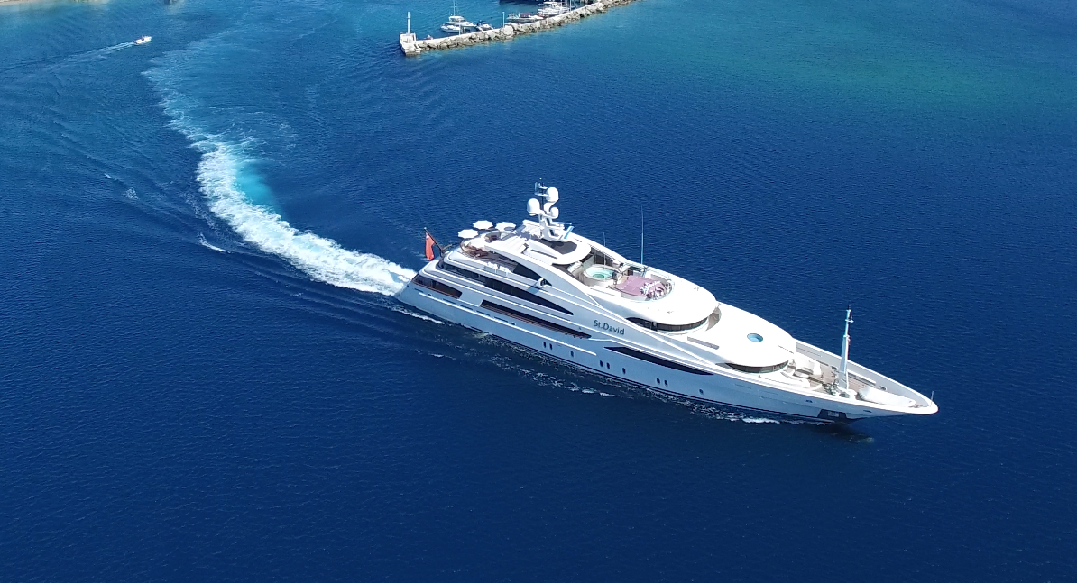 yacht for charter st david