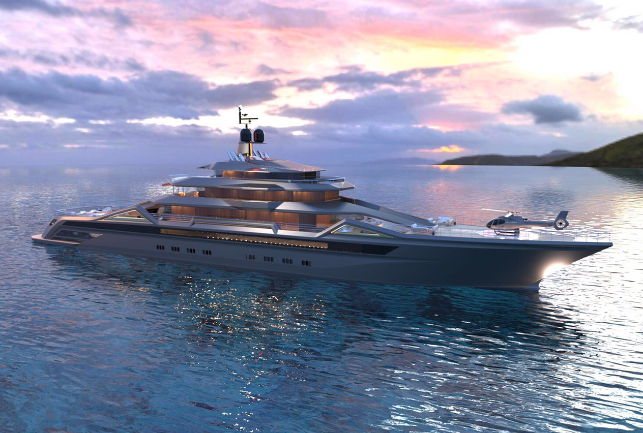Concept Yacht MAUNA KEA for Sale with SuperYachtsMonaco