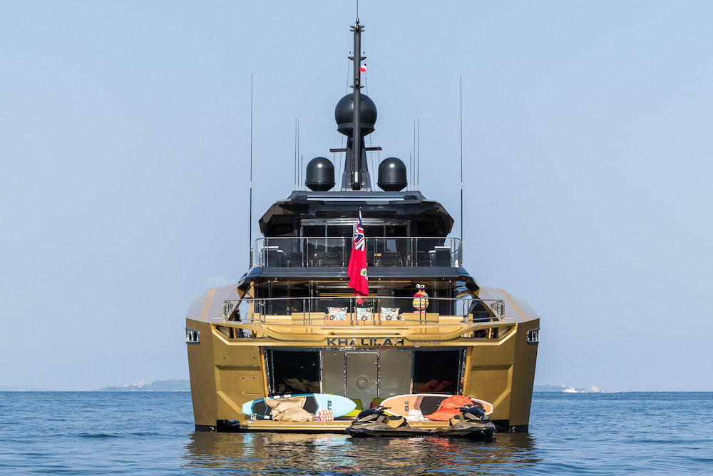 New and Exclusive to SuperYachtsMonaco: 49m KHALILAH