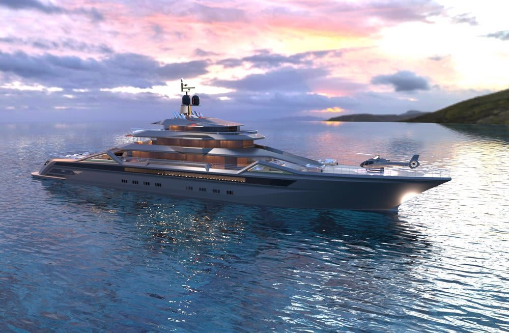 Roberto Curtó of RC Design releases new 101m Concept