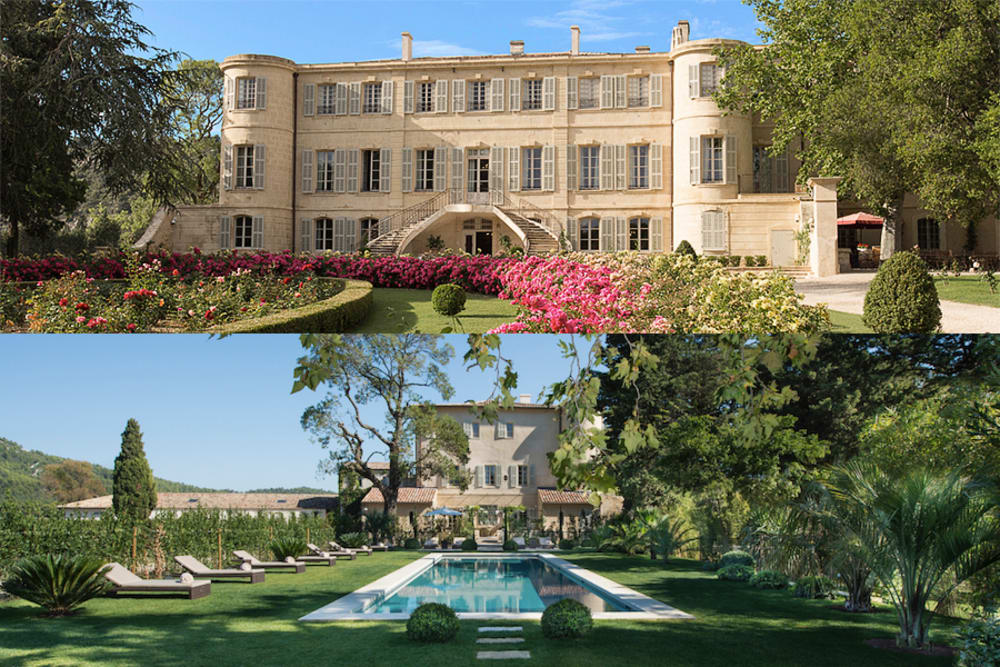Chateau d'Estoublon - A Perfect Add-on to your Charter