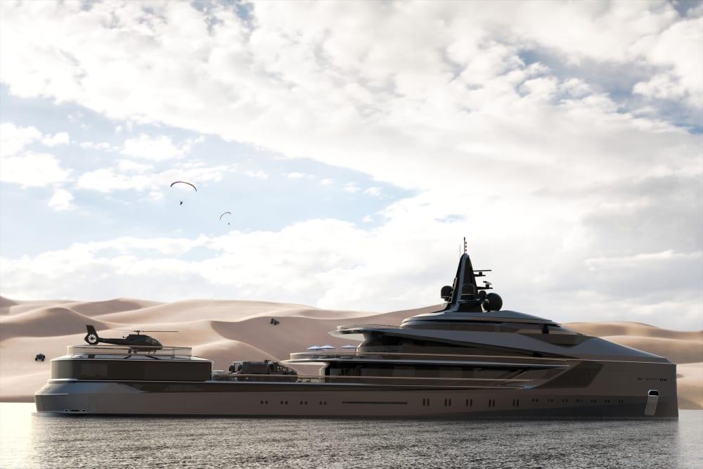 Oceanco's Latest Sensation - 105m Extreme Expedition Yacht ESQUEL