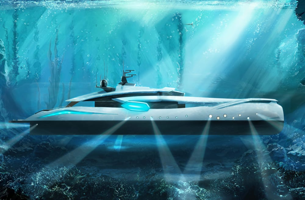 A new yacht collaboration with Roberto Curto