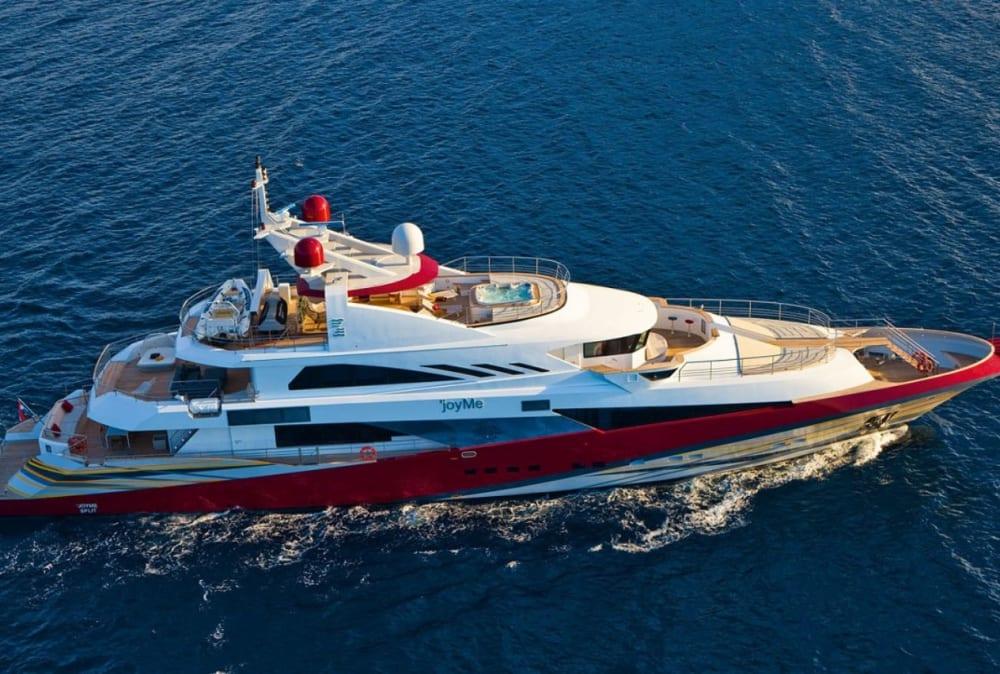Third Major Price Reduction for Philip Zepter Superyacht JOYME