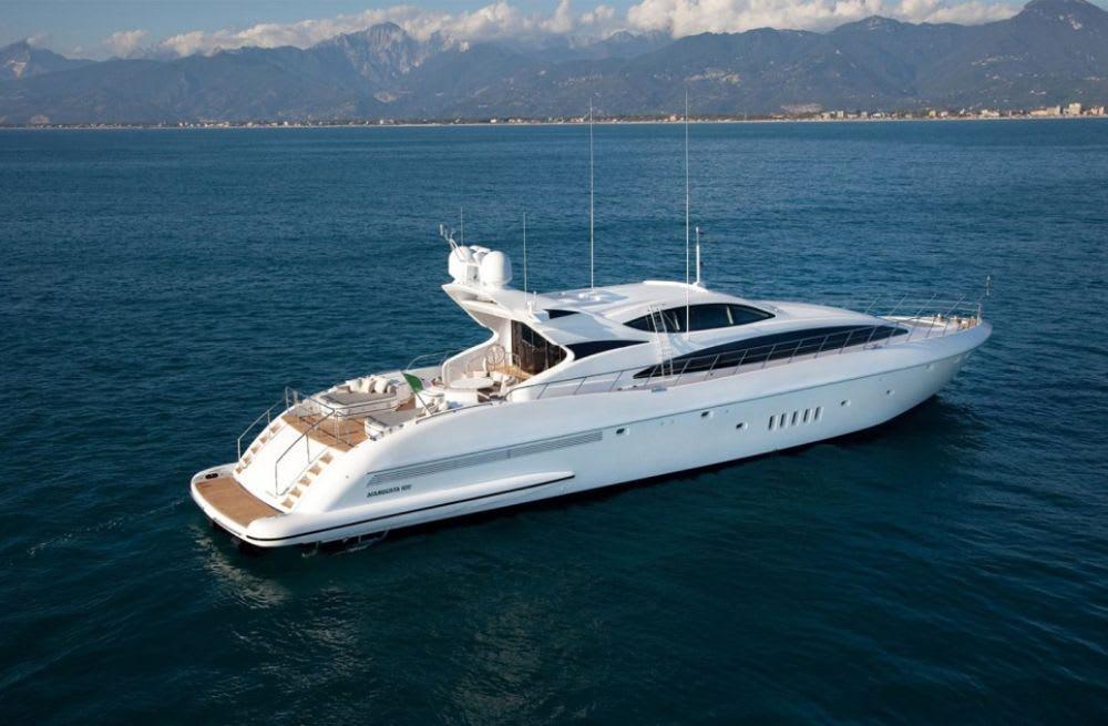 Mangusta Yacht, M/Y NEGARA Sold