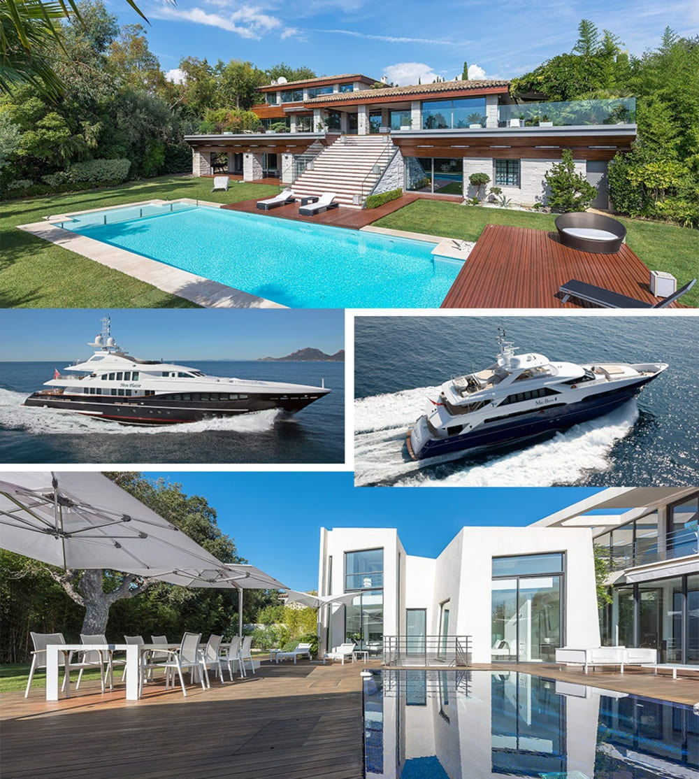 Combination Charters: Pairing Superyachts and Super Villas on the French Riviera
