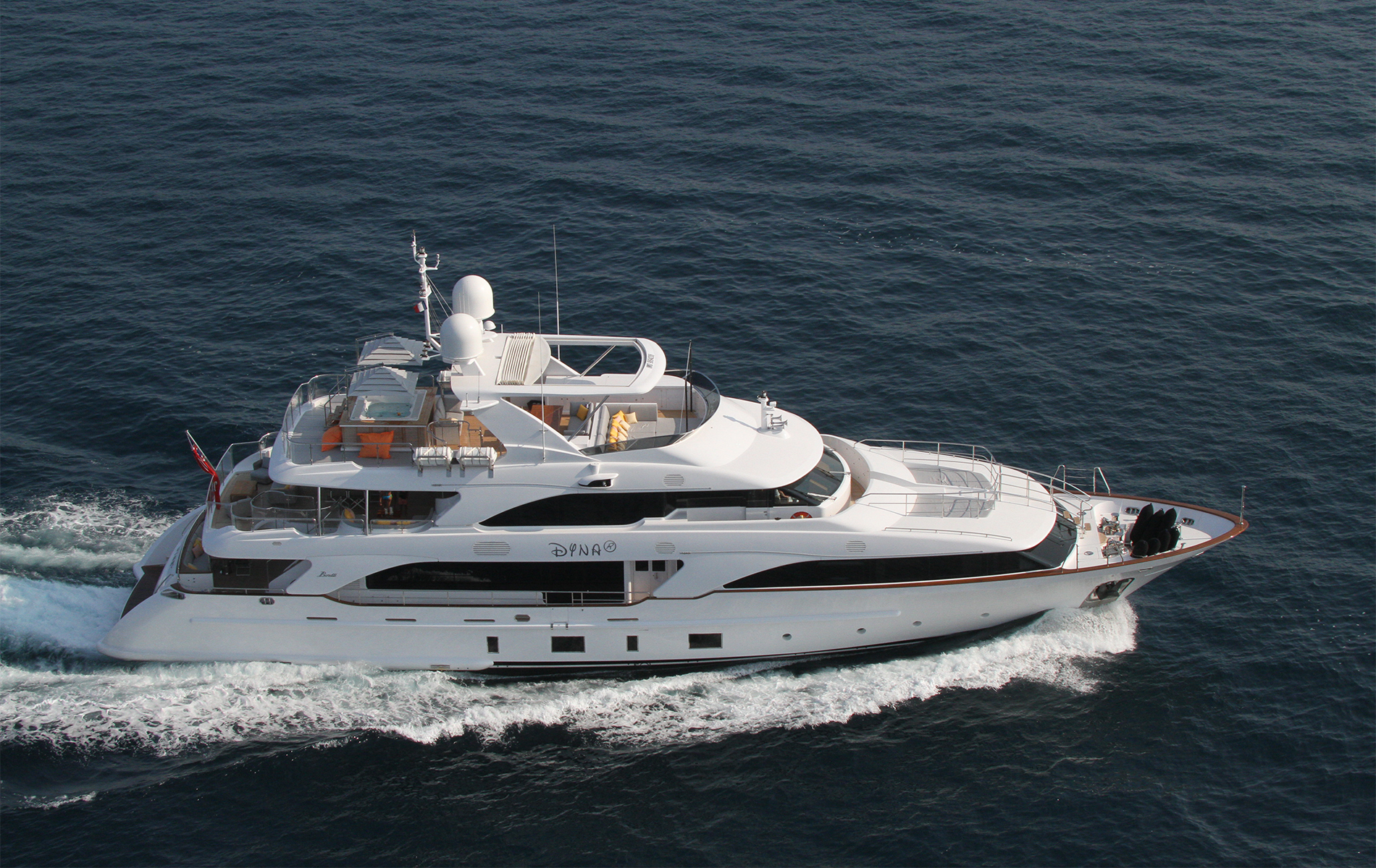 Motor Yacht DYNA® for Charter with SuperYachtsMonaco