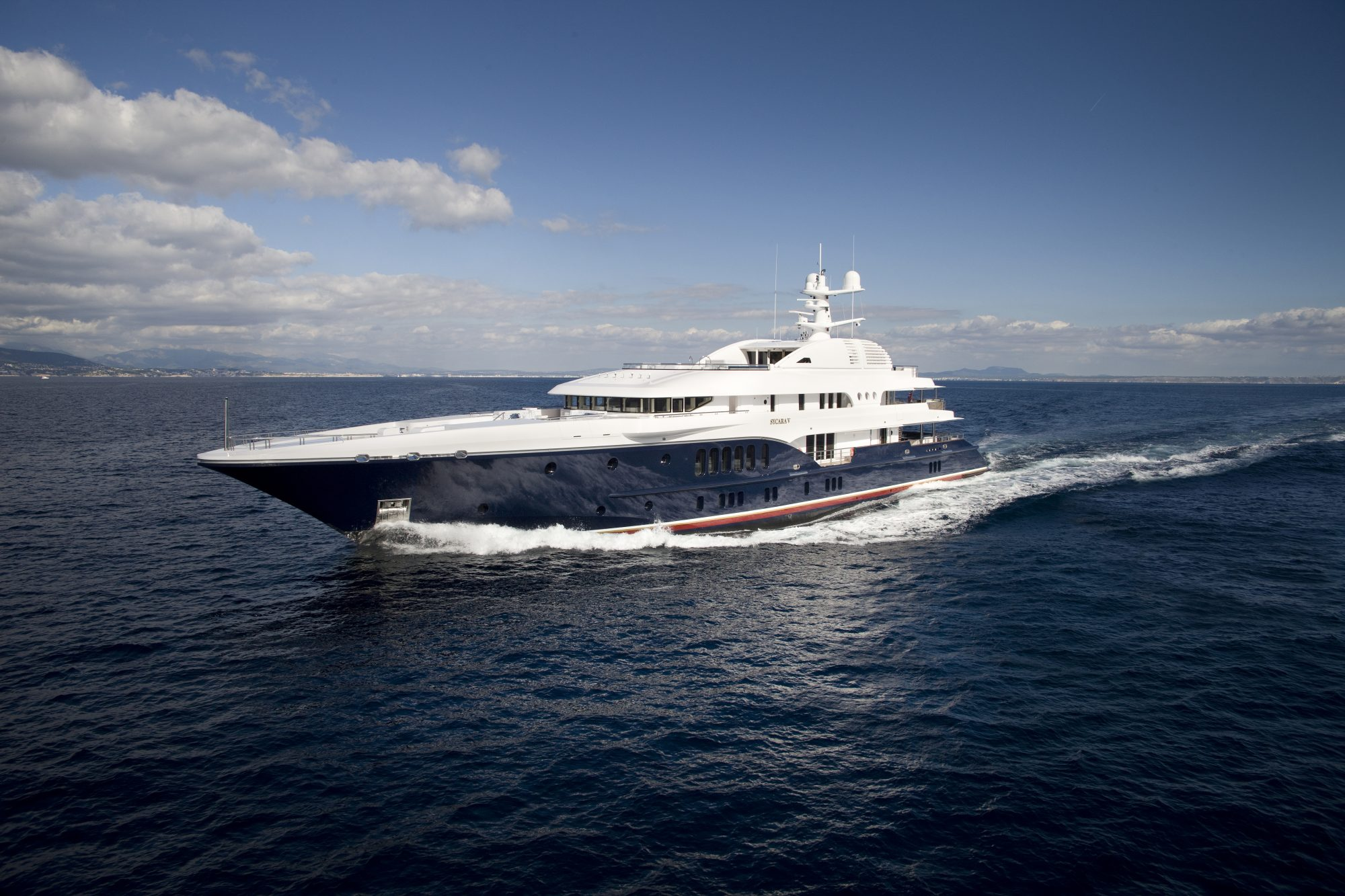 Motor Yacht SYCARA V for Charter with SuperYachtsMonaco