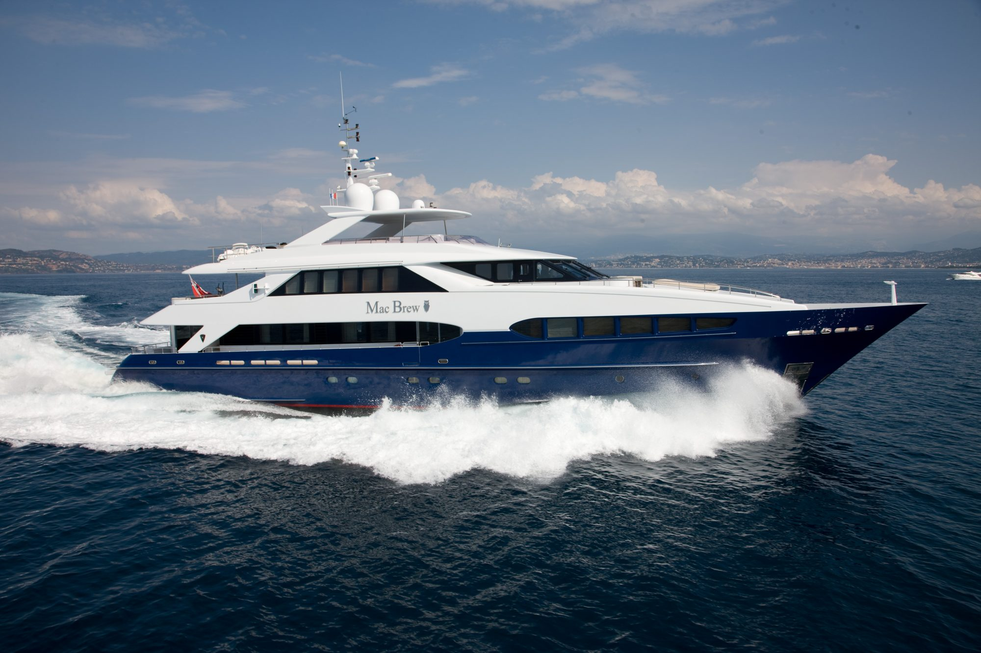 Motor Yacht MAC BREW for Charter with SuperYachtsMonaco