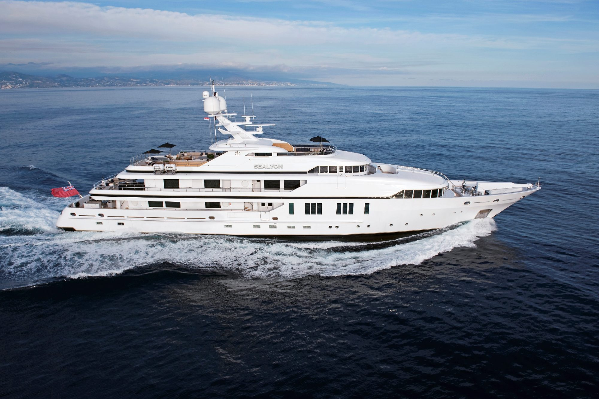 Motor Yacht SEALYON for Charter with SuperYachtsMonaco