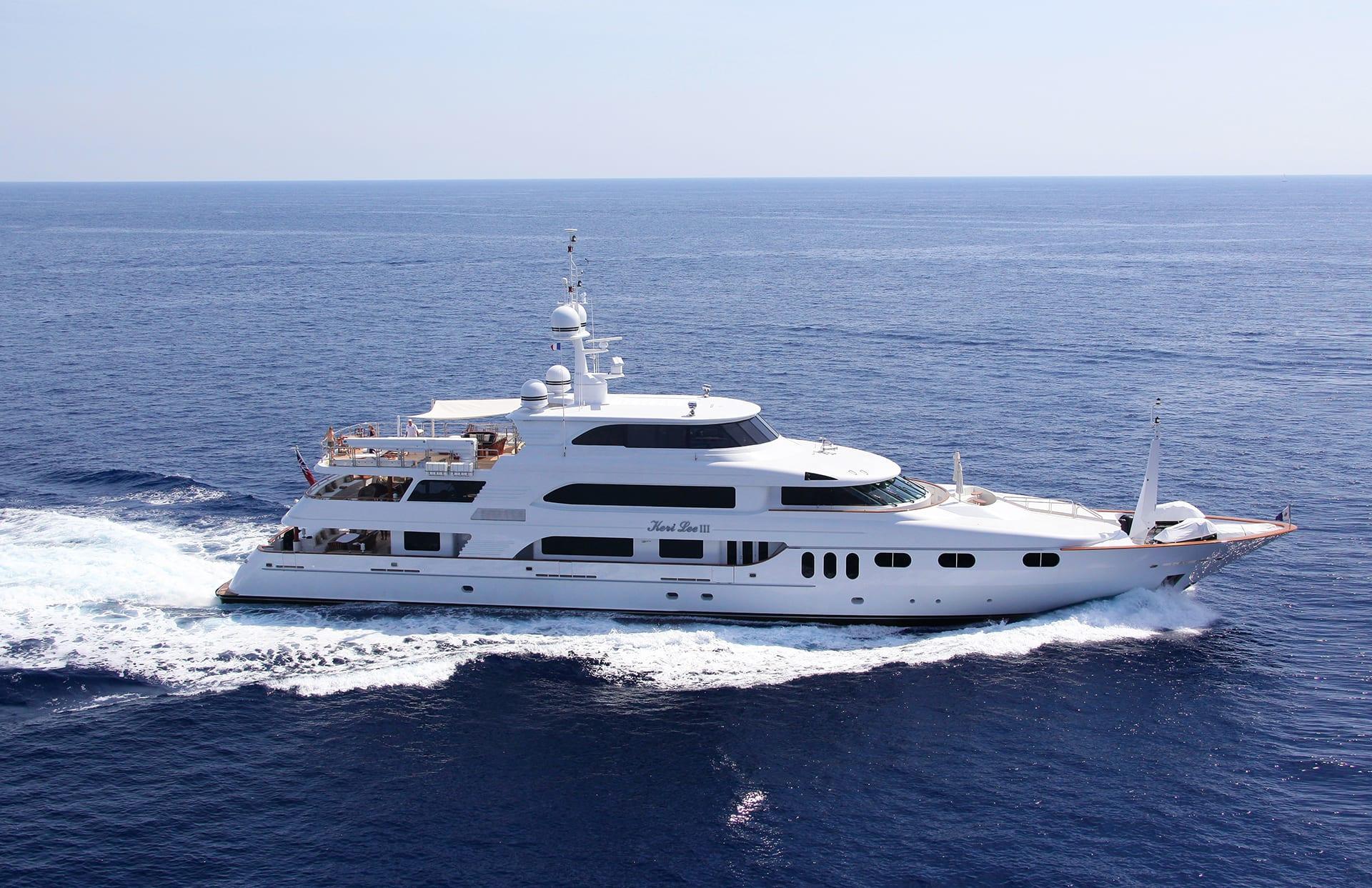 Motor Yacht KERI LEE for Charter with SuperYachtsMonaco