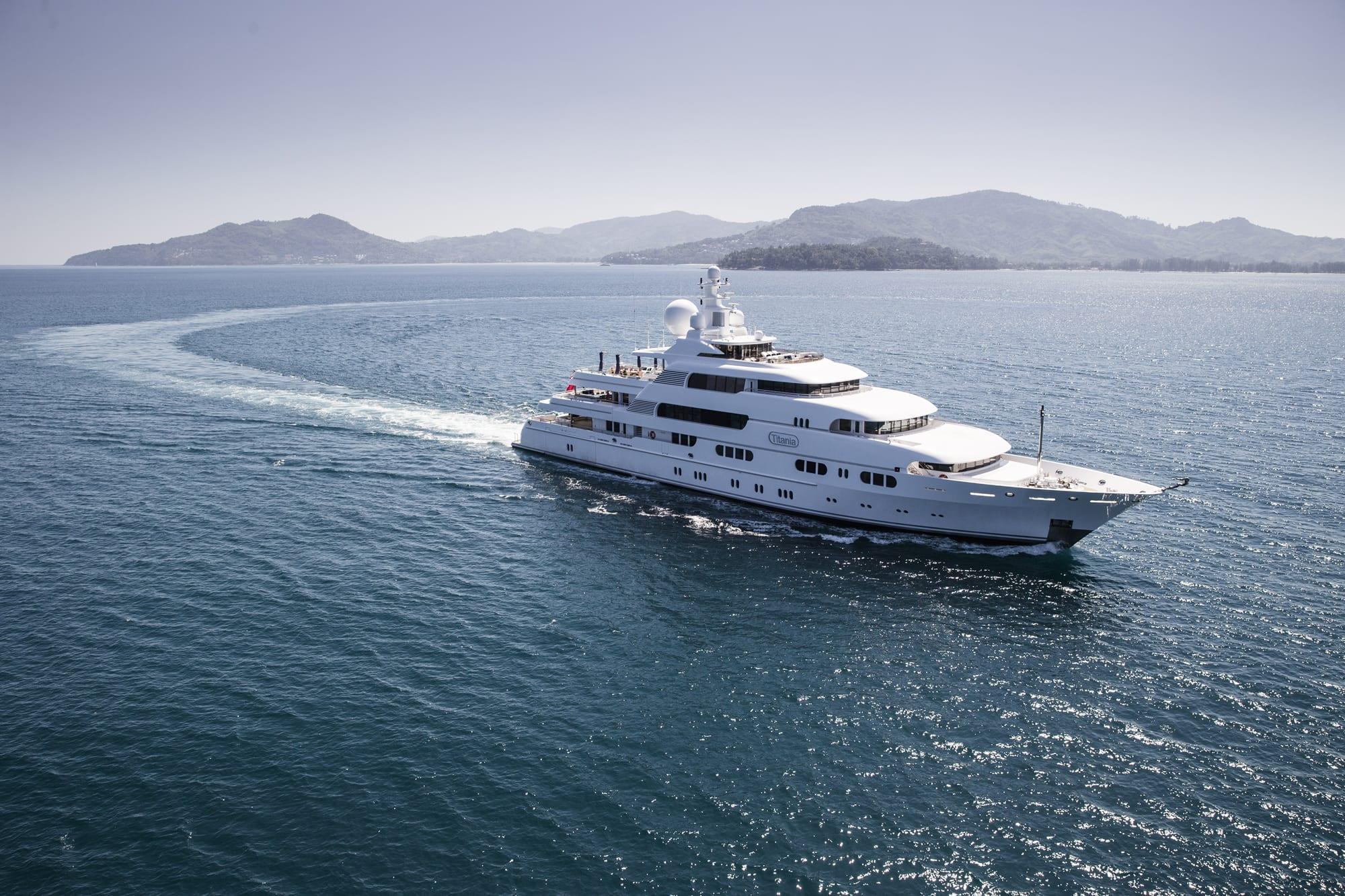 Motor Yacht TITANIA for Charter with SuperYachtsMonaco