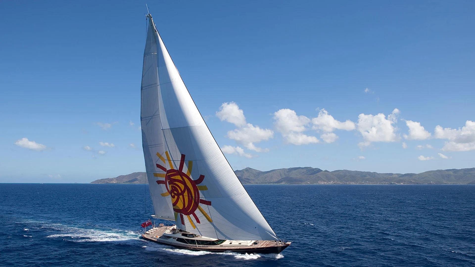 Sail Yacht TIARA for Charter with SuperYachtsMonaco