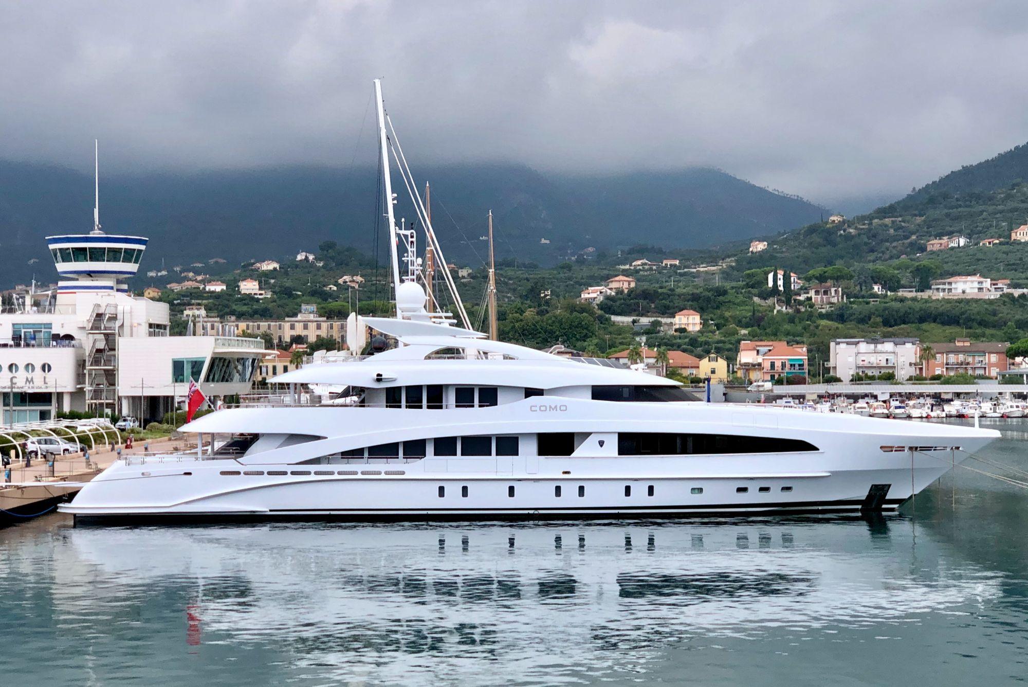como yacht for sale