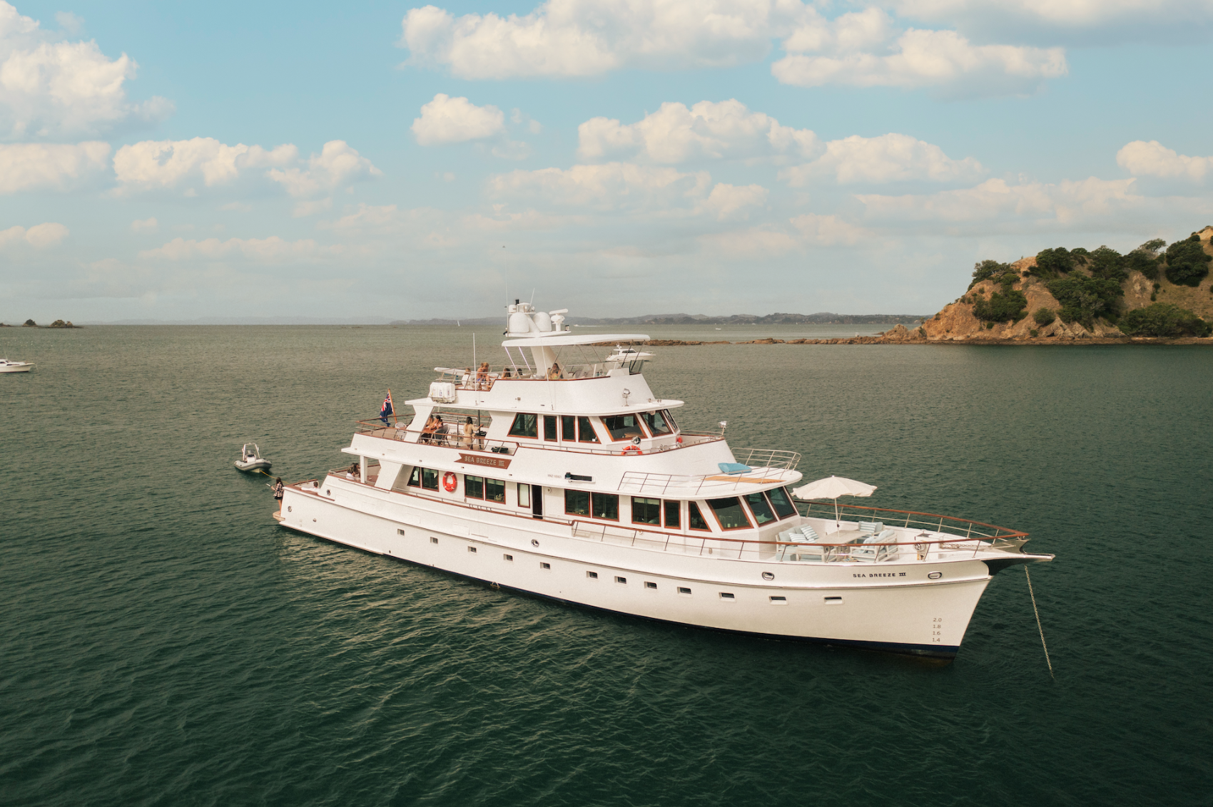 M/Y SEA BREEZE III Available for Charter With SuperYachtsMonaco